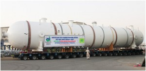 300 MT Cladded Pressure Vessel